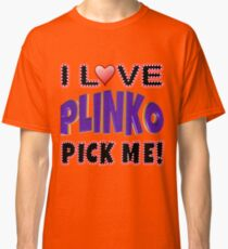 TV Game Show - TPIR (The Price Is...) Purple Plinko Classic T-Shirt