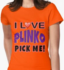 TV Game Show - TPIR (The Price Is...) Purple Plinko Women's Fitted T-Shirt