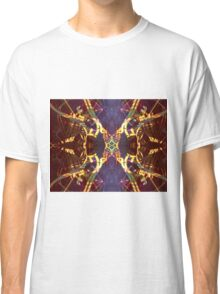 Kaleidoscope Dreams - Abstract Mandela  Classic T-Shirt