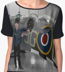 Biggin Hill Heritage Hangar - Getting Spitfires back in the air Chiffon Top