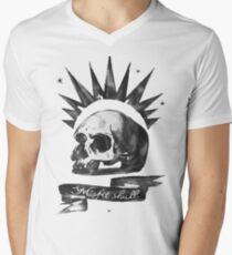 Chloe Price - Misfit Skull (Life is Strange) Men's V-Neck T-Shirt