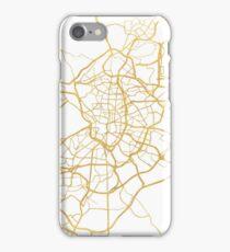 MADRID SPAIN CITY STREET MAP ART iPhone Case/Skin