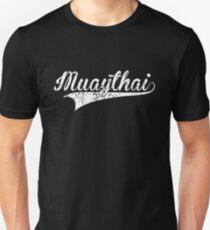 Muay Thai Minimalist Letter - Thailand Martial Art Unisex T-Shirt