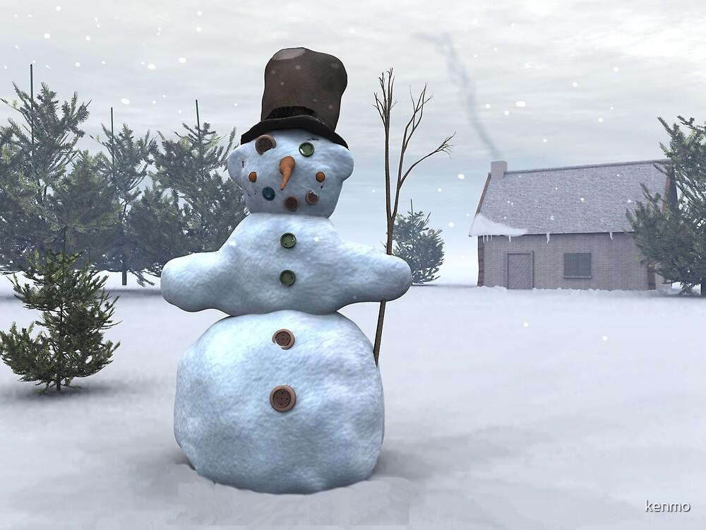 Snowman by kenmo
