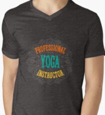 Yoga Instructor Men's V-Neck T-Shirt