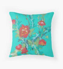 Flowers pastel Throw Pillow
