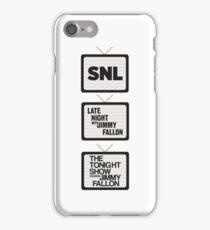 Jimmy Fallon TV History iPhone Case/Skin