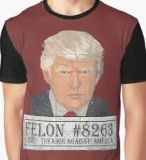 President Trump mug shot!   Graphic T-Shirt