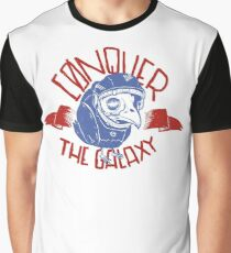 Conquer the galaxy Graphic T-Shirt