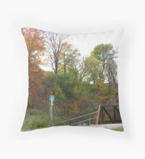 Oshawa Trails Throw Pillow