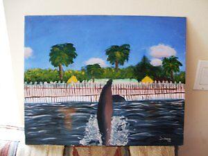 Spyhopping Dolphin by Saavvvyyyy