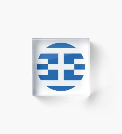 Greece 1.0 Acrylic Block