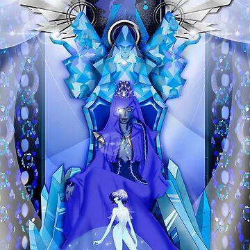 Blue diamond by Octocromia