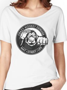 Crazy Monkey Geometric (V.1)  Women's Relaxed Fit T-Shirt