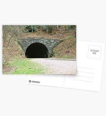 Tunnel - Blue Ridge Parkway Postcards