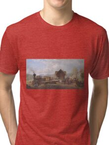Edward Lamson Henry - The 9-45 Accommodation Tri-blend T-Shirt