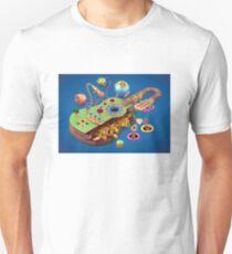 Acoustic Guitar Picked Apart Unisex T-Shirt