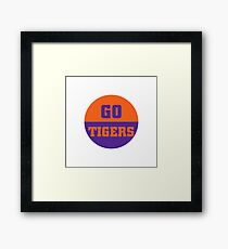 Go Tigers Framed Print