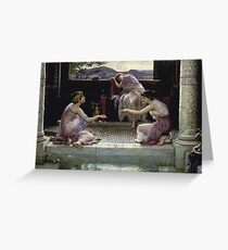 Edward Poynter - When The World Was Young1891 Greeting Card