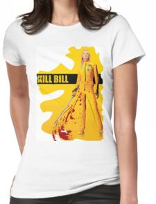 kill Bill Womens Fitted T-Shirt