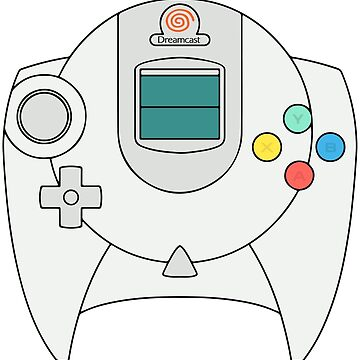 Dreamcast Controller by giuliomaffei90