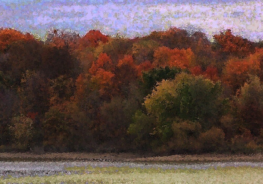 Autumn Color by Clarence R. Walker
