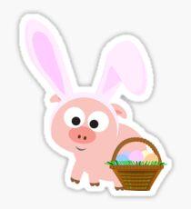 Easter Pig Sticker