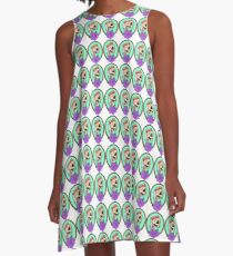 Miss Midna Logo A-Line Dress