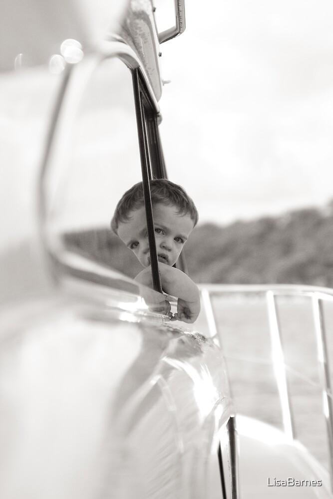Little Boy Boating by LisaBarnes