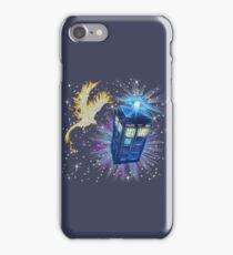 Phoenix and the Tardis iPhone Case/Skin