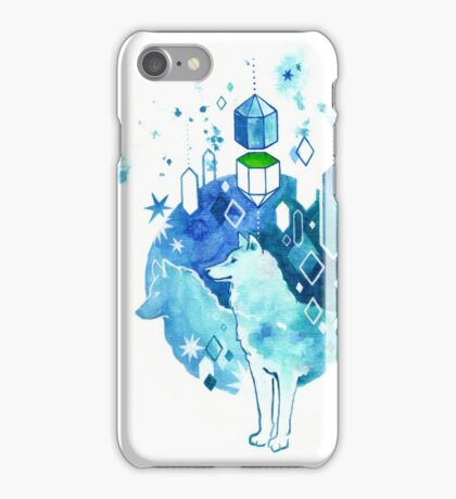 Canis Phthalocyanine (the blue-green guard dogs) iPhone Case/Skin