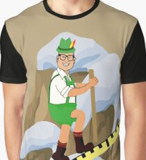 TV Game Show - TPIR (The Price Is...) Cliffhanger Drew2 Graphic T-Shirt