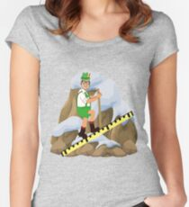 TV Game Show - TPIR (The Price Is...) Cliffhanger Drew2 Women's Fitted Scoop T-Shirt