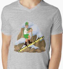 TV Game Show - TPIR (The Price Is...) Cliffhanger Drew2 Men's V-Neck T-Shirt