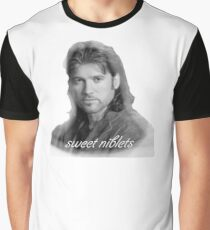 Billy Ray Cyrus Sweet Niblets  Graphic T-Shirt