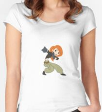 Kim Possible Women's Fitted Scoop T-Shirt