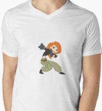 Kim Possible Men's V-Neck T-Shirt