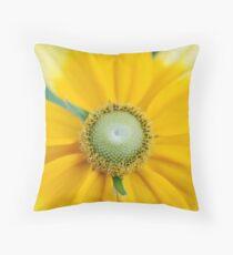 Yellow Envy Throw Pillow