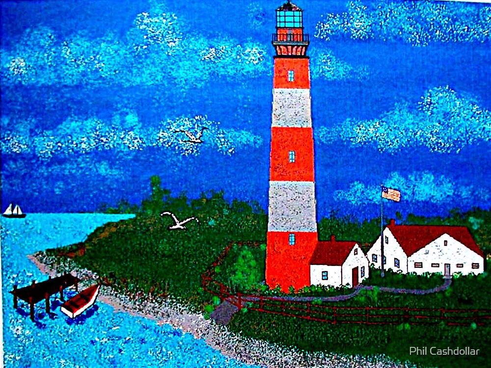Lighthouse by Phil Cashdollar