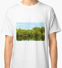 Green Tree Reflections Classic T-Shirt