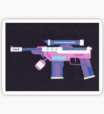 Space Gun Sticker