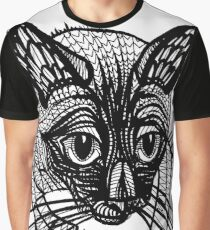 Miqo, the siames cat Graphic T-Shirt