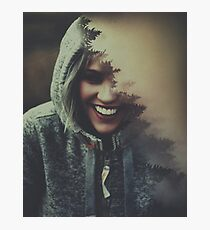 The Most Beautiful Smile Photographic Print