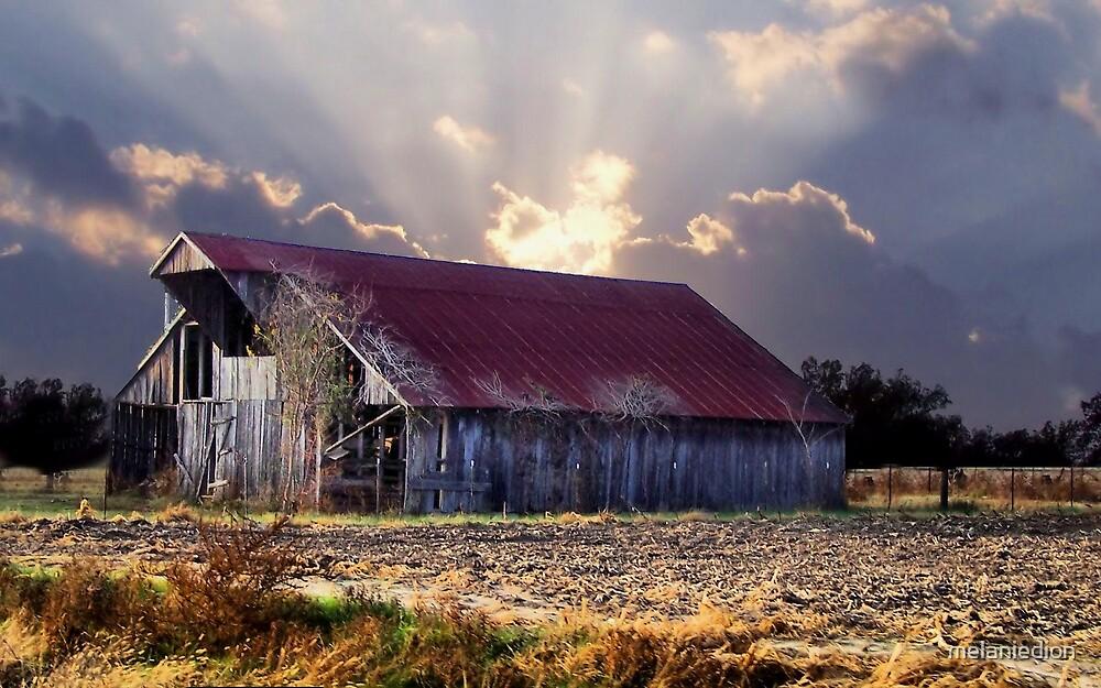 Old Barn by melaniedion