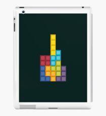 8-bit Tetris (v1) iPad Case/Skin