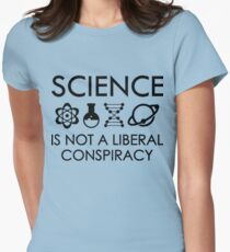 March for science Womens Fitted T-Shirt