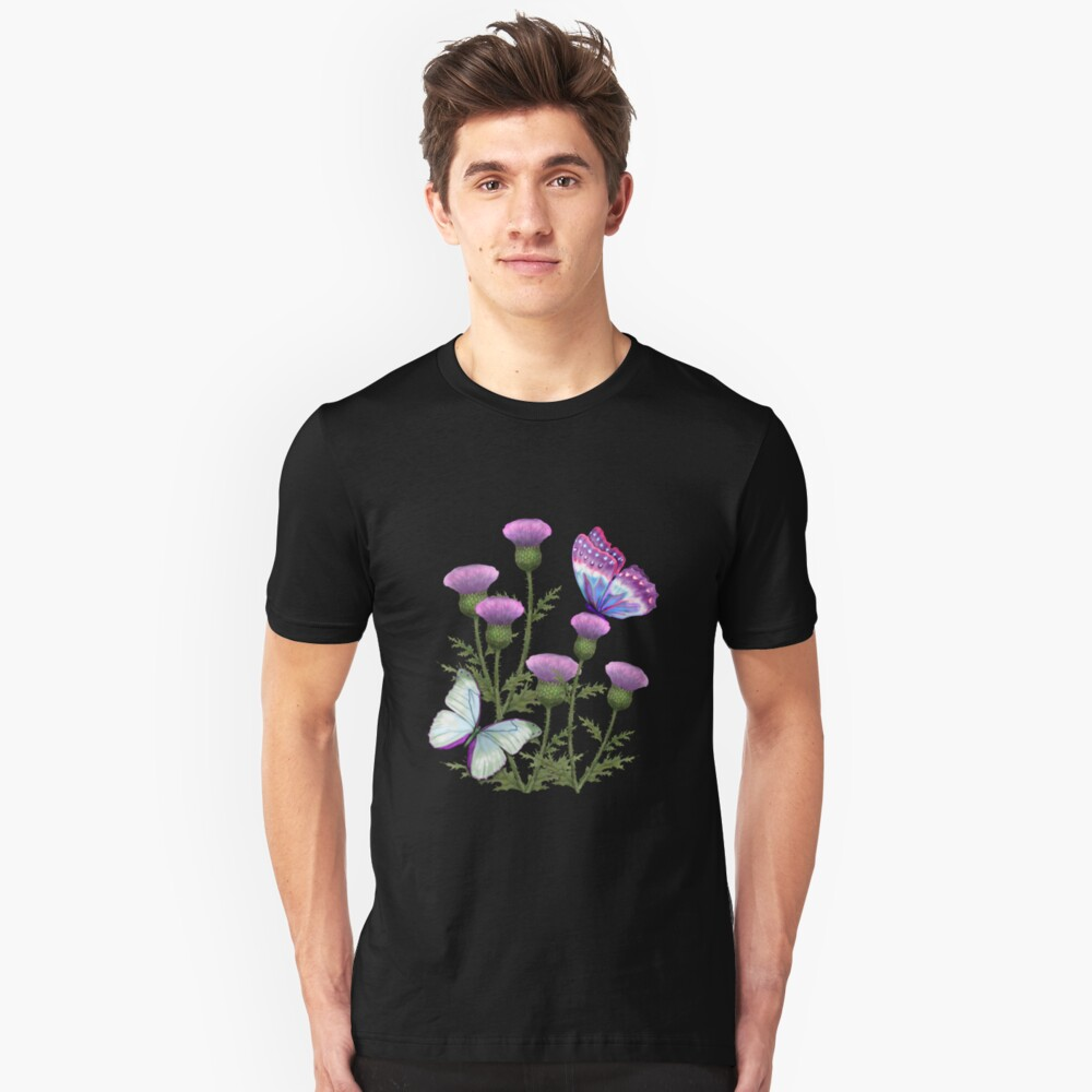 Summer Thistles Unisex T-Shirt Front