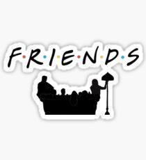 F.R.I.E.N.D.S logo Sticker