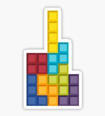 8bit Tetris (v2) Sticker