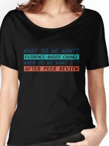 March for science Women's Relaxed Fit T-Shirt